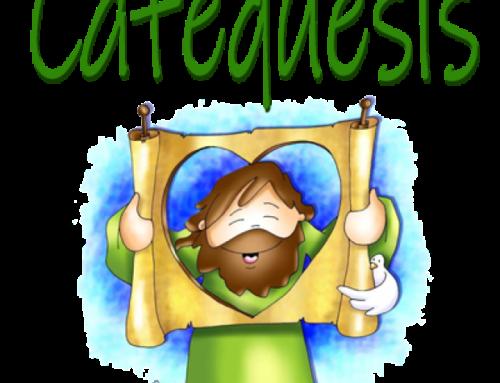 Información para padres de catequesis de 1º de Iniciación Cristiana