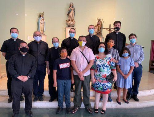 Visita del equipo de formadores del Seminario menor Santo Tomas de Villanueva